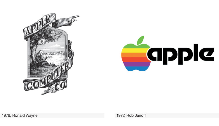 First Apple computer logo Wallpaper
