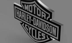 Harley logo 3D