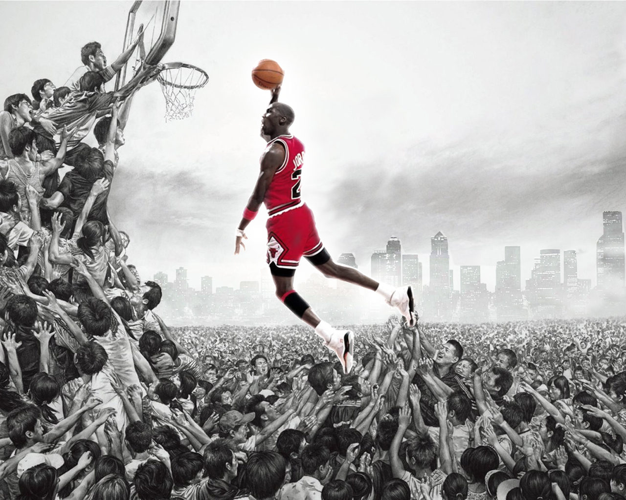 Michael Jordan logo Wallpaper