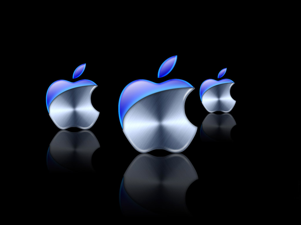 New Apple logo Wallpaper