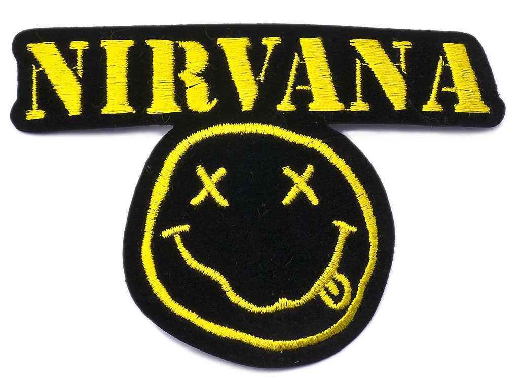 Nirvana logo Wallpaper