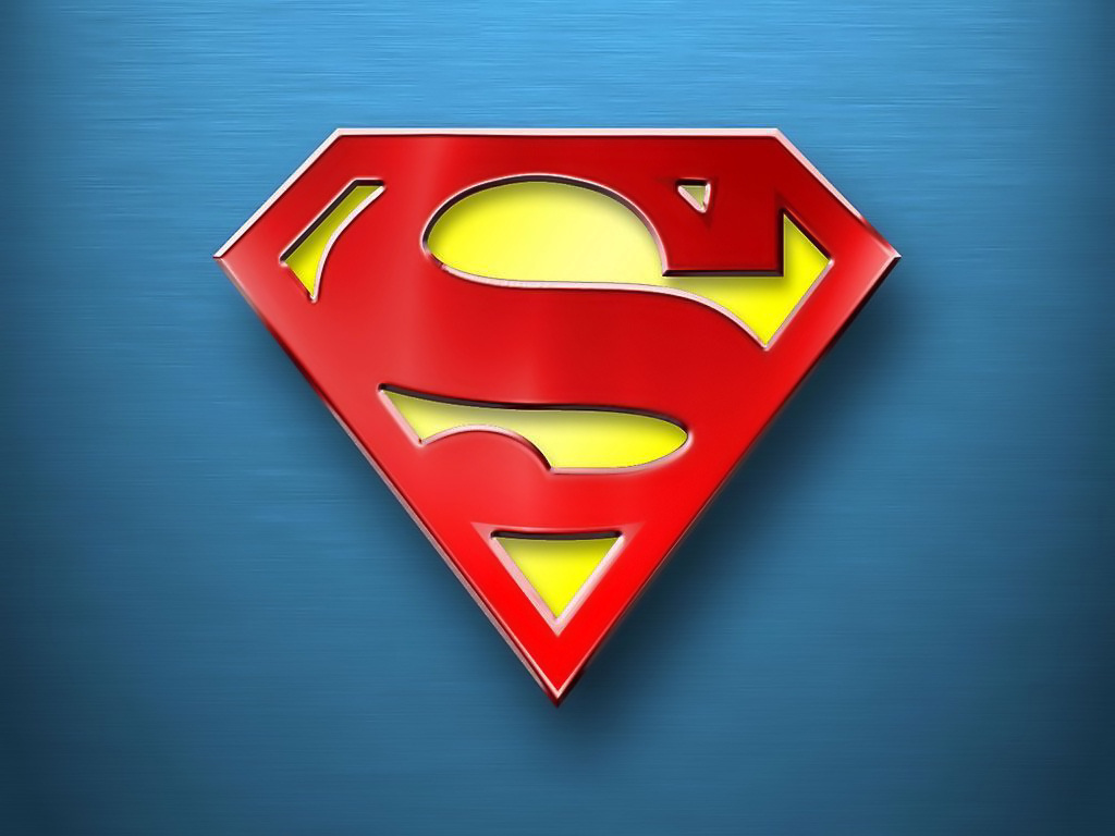 Super man logo Wallpaper