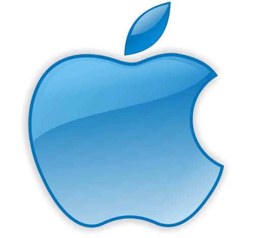 The Apple logo Wallpaper