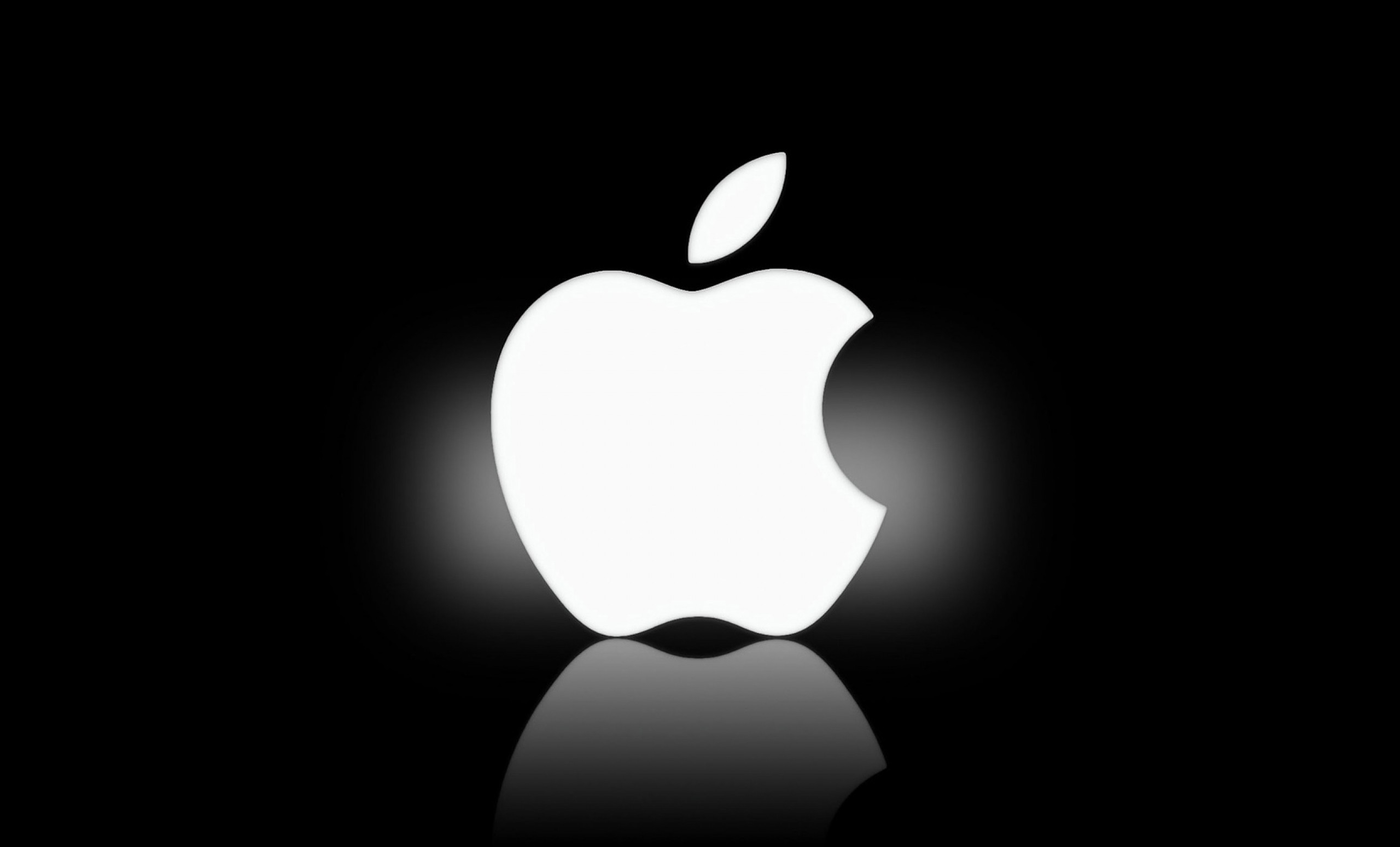 White Apple logo -Logo Brands For Free HD 3D