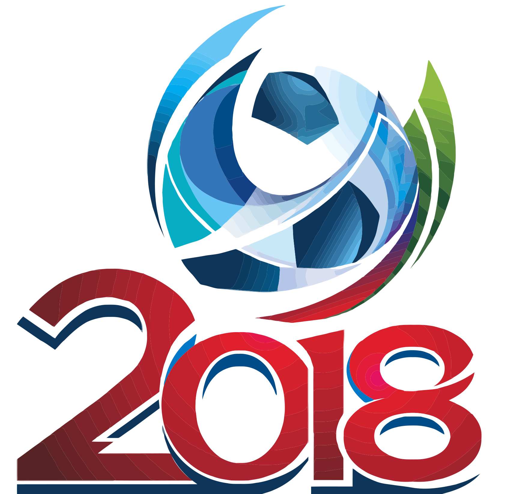 World cup logo 2018 Wallpaper