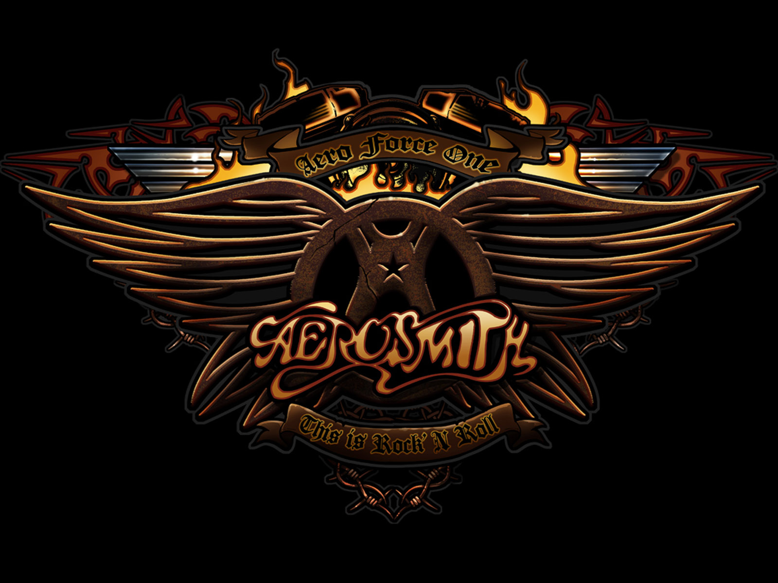 Aerosmith logo Wallpaper
