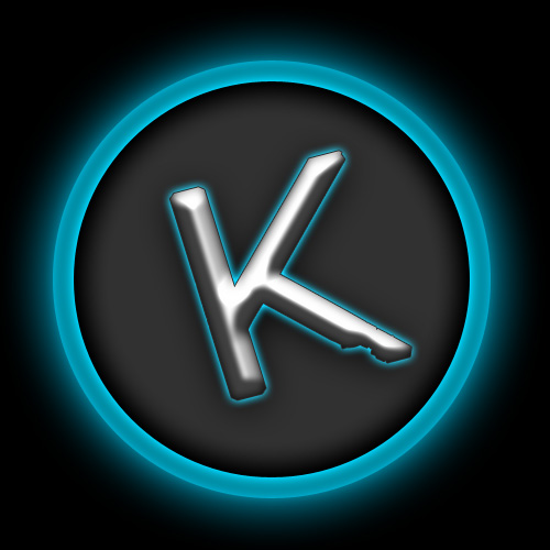 K logo Wallpaper