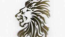 Lion 3D logo