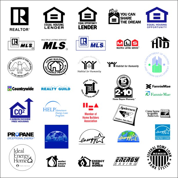 Real estate logos Wallpaper