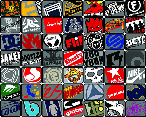Skate logos Wallpaper