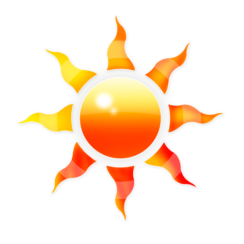 Sun logo Wallpaper