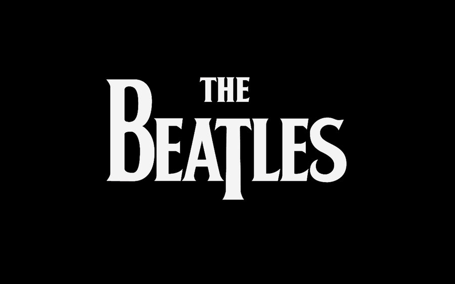 The beatles logo Wallpaper