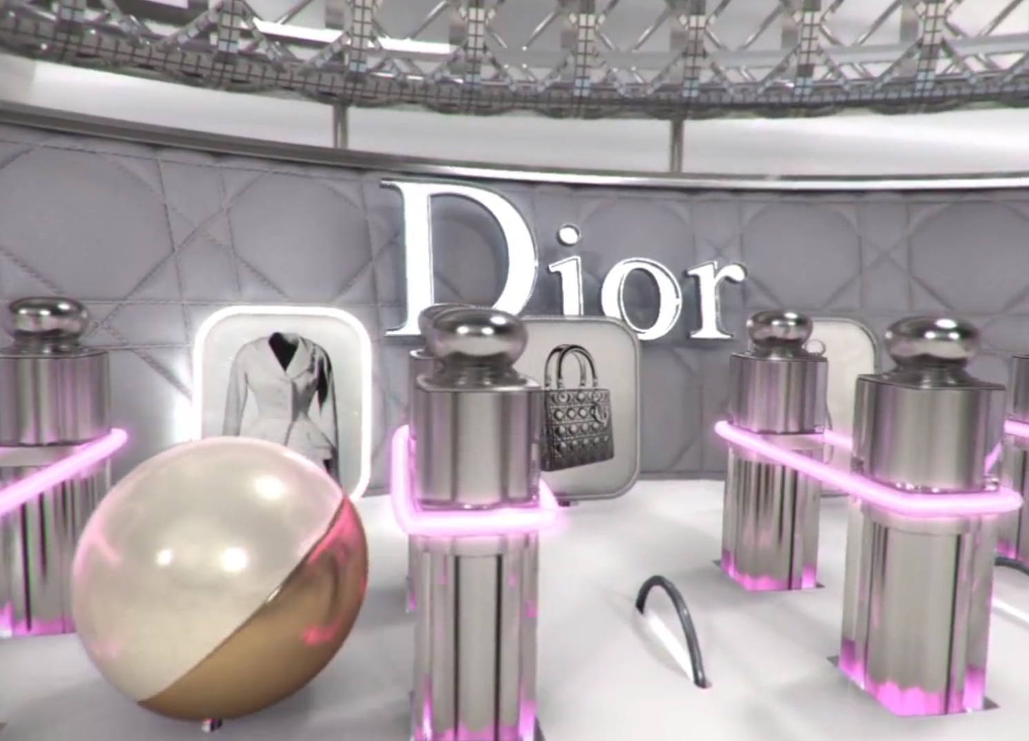 Dior logo Wallpaper