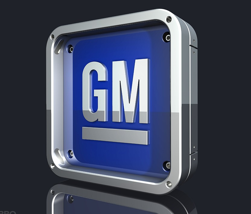 GM logo 3D Wallpaper
