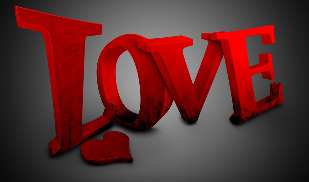 Love logo Wallpaper