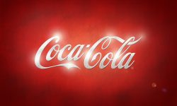 Coca Cola logo wallpaper
