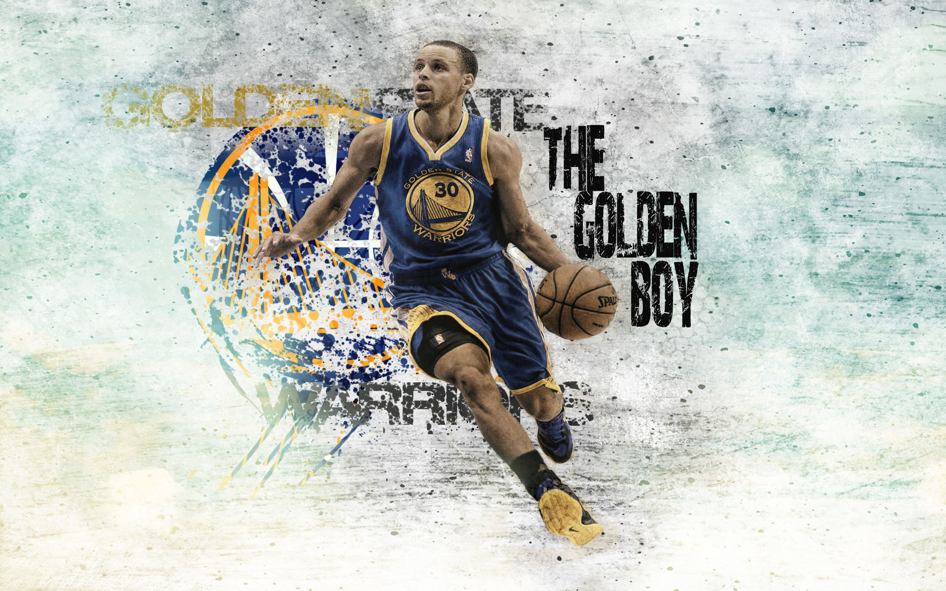 Golden State Warriors logo wallpaper Wallpaper