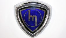 Old Mazda Logo Sign