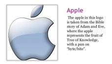 Apple company logo meaning
