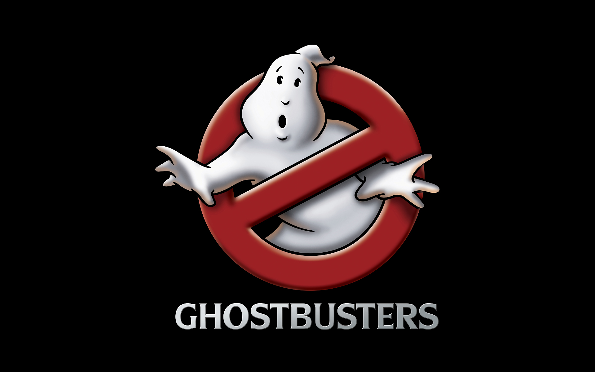 GhostBusters logo 3D Wallpaper