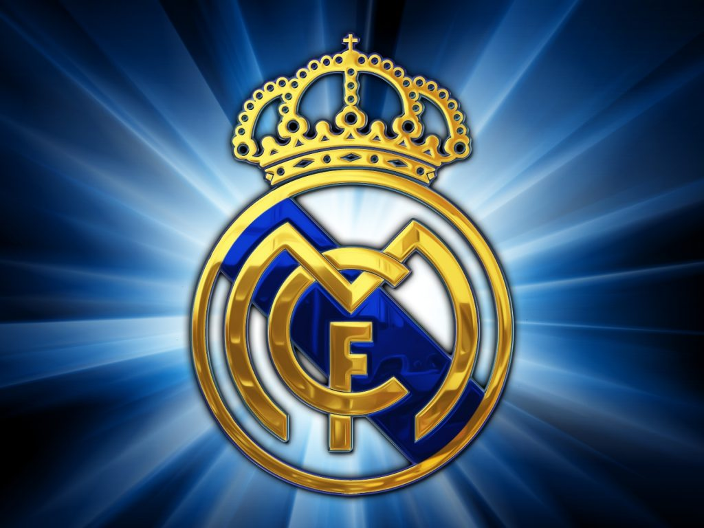 Real madrid logo 3d png