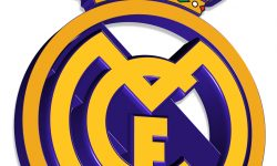 Real Madrid logo 3D