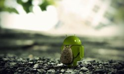 Funny Android 3D Logo