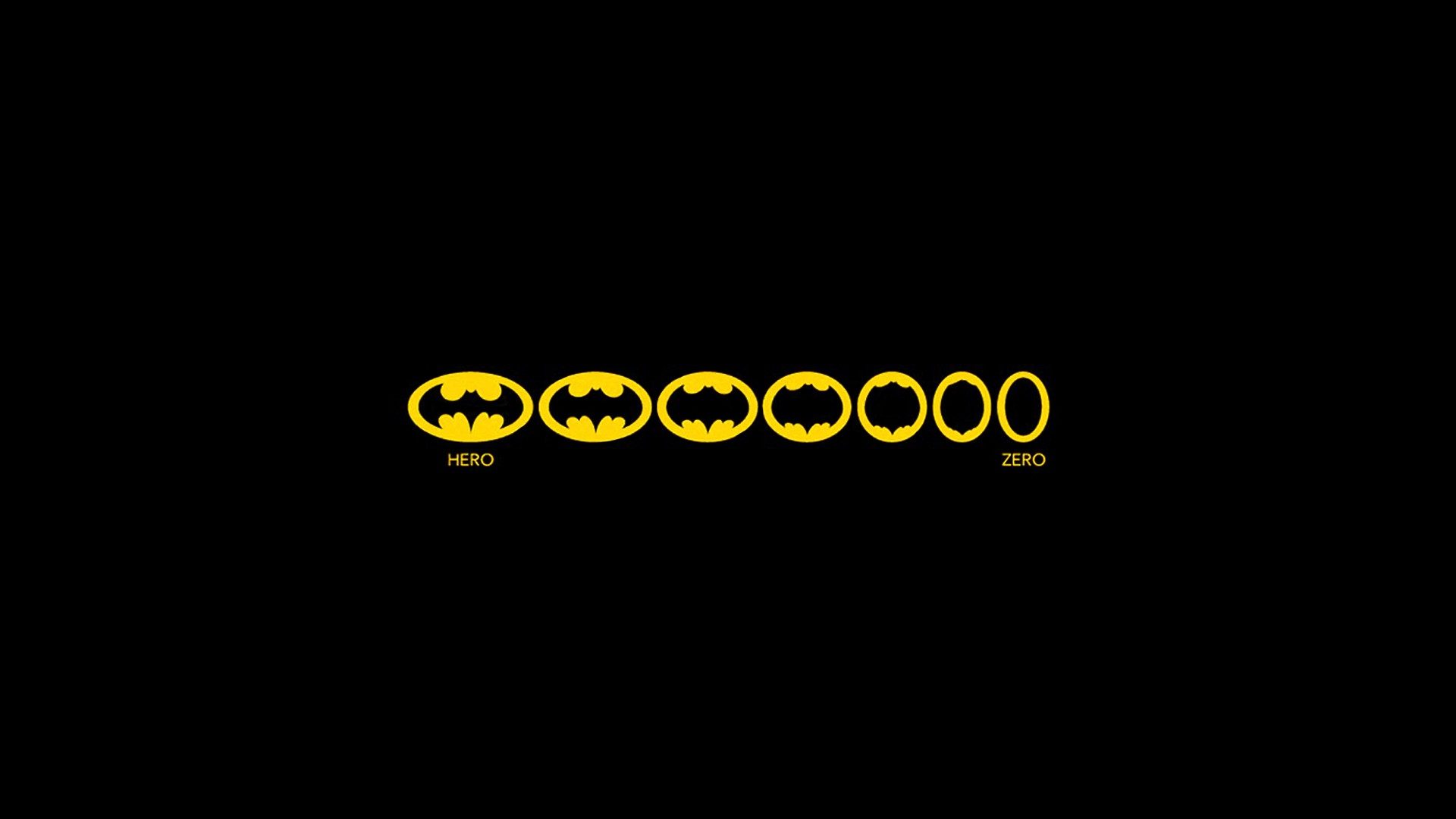 Funny Batman Logo Wallpaper