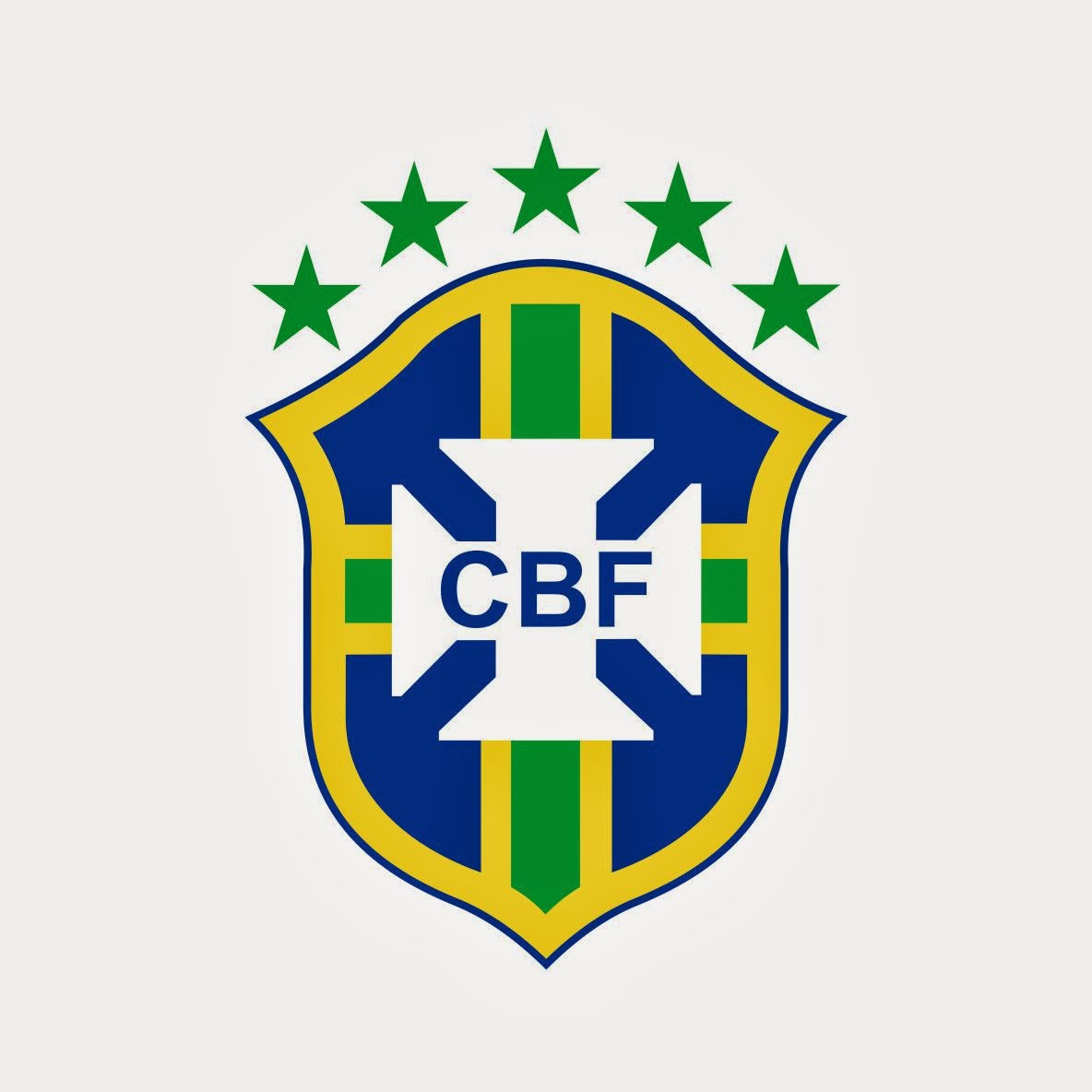 Brazil Football Club Emblem Wallpaper
