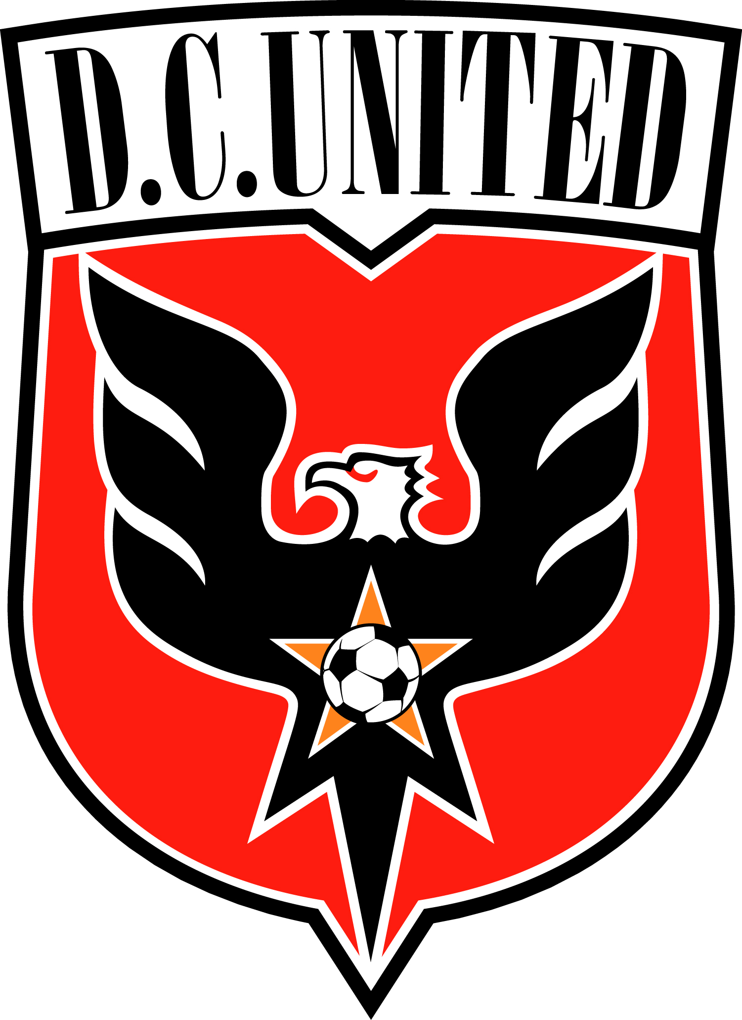 DC United Football Club Logo Wallpaper