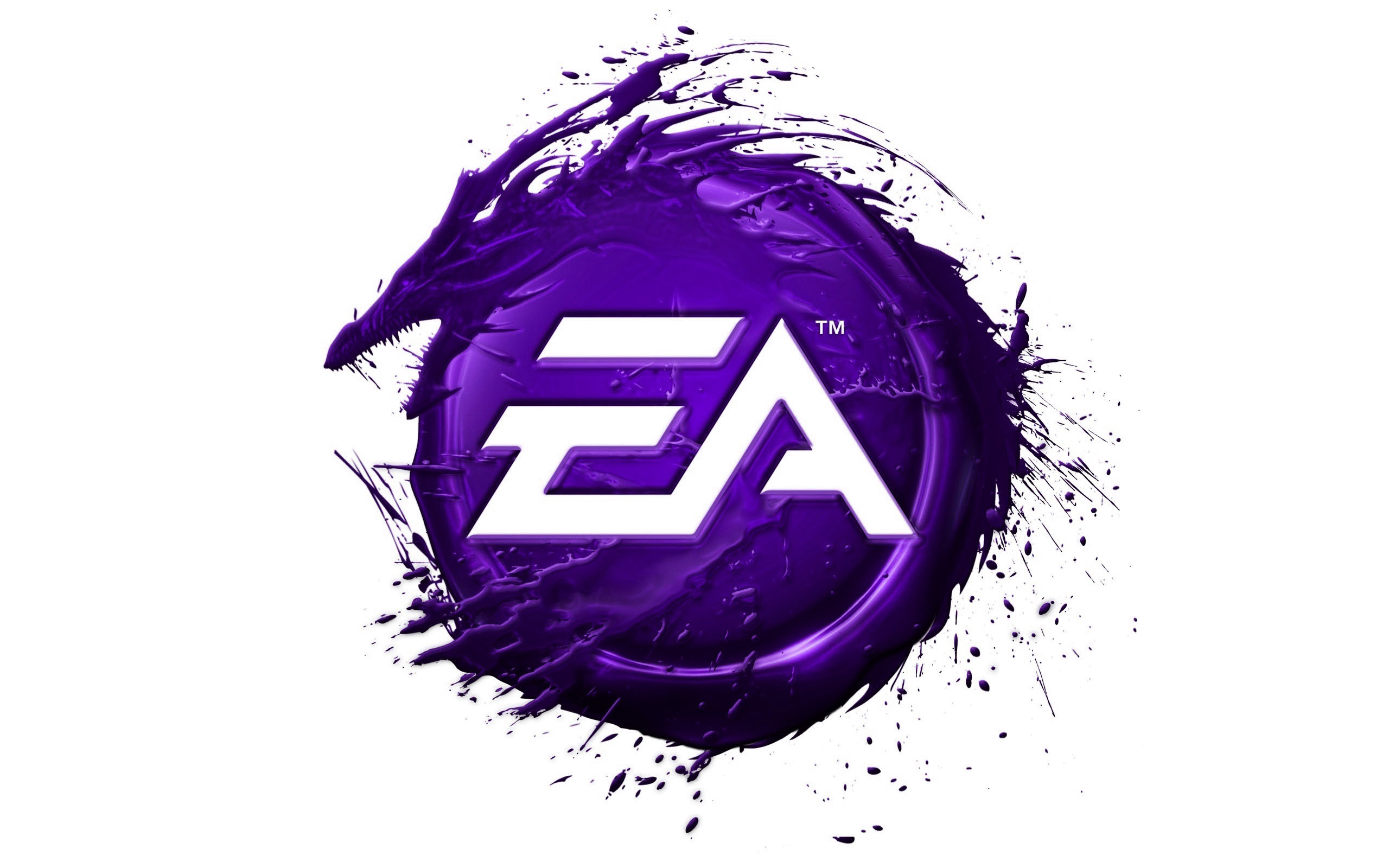 EA Games Logo Wallpaper
