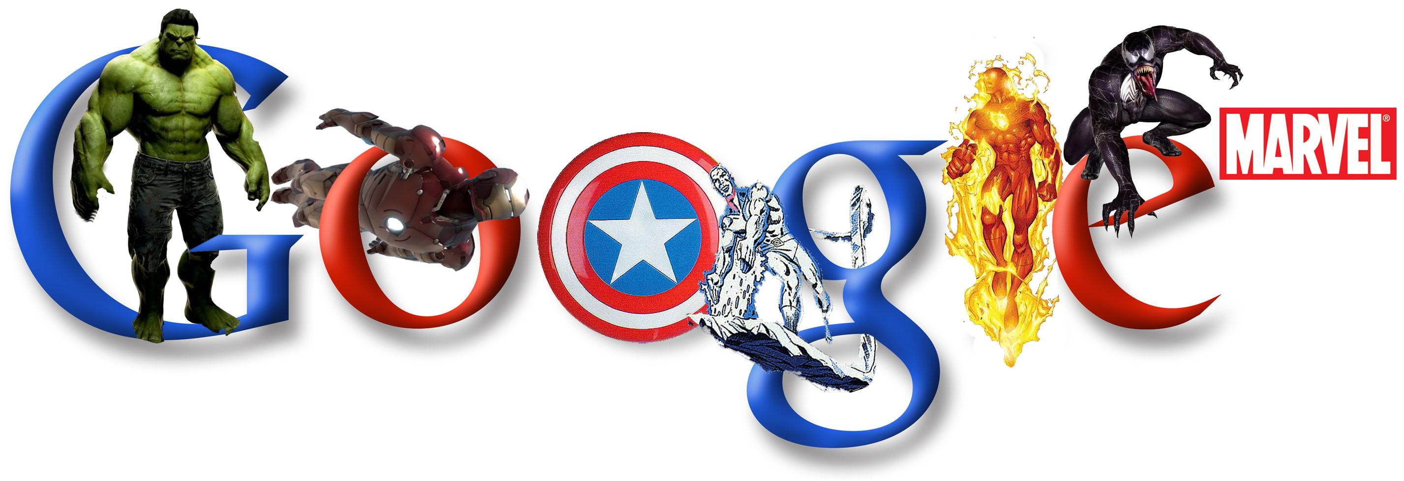Funny Google Logo Wallpaper