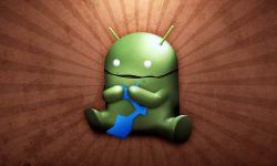 Funny Android Logo