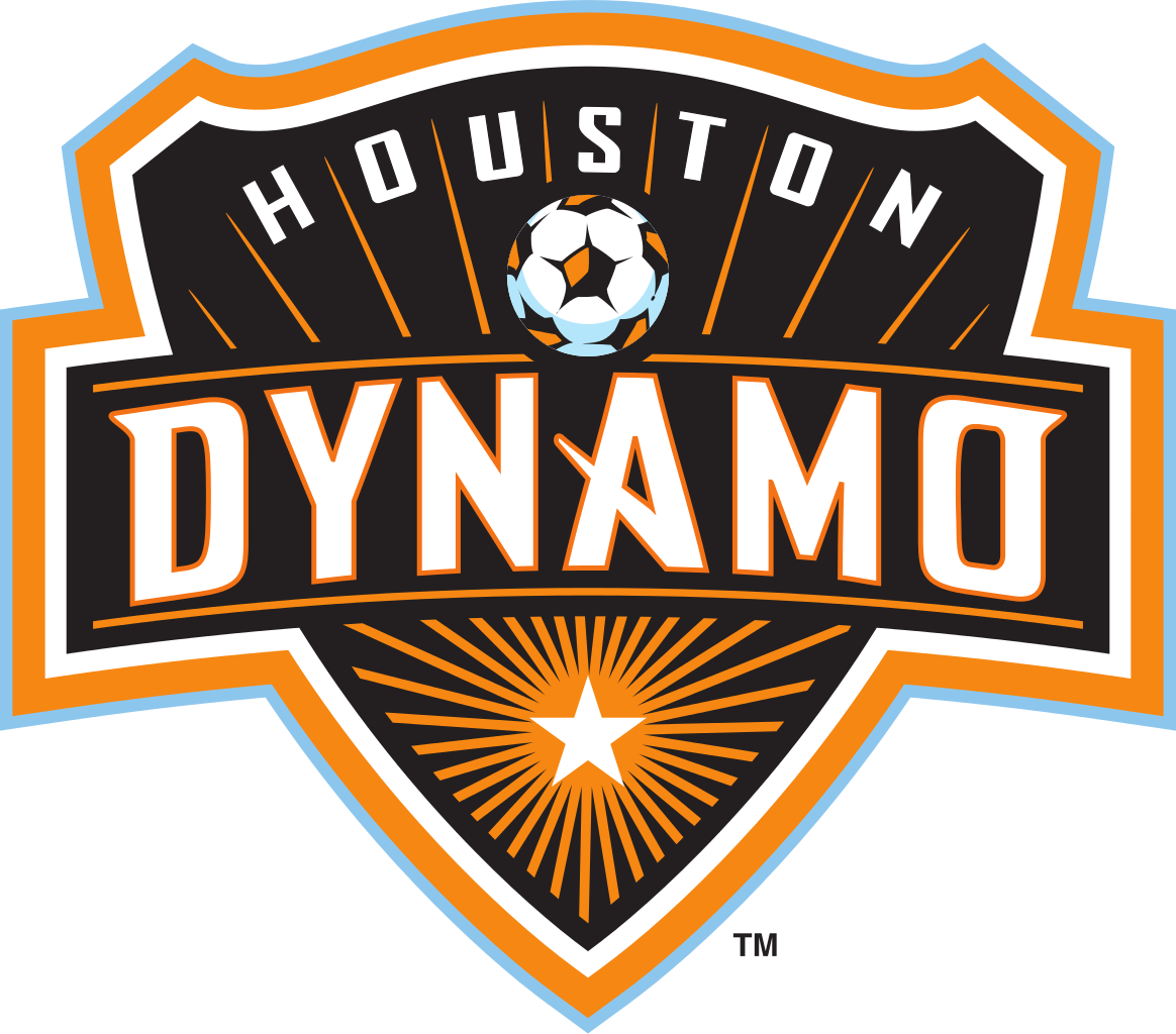 Houston Dynamo Football Club Logo Wallpaper