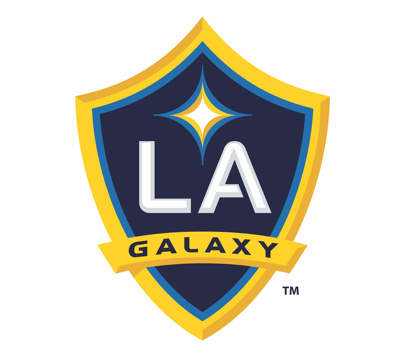 Los Angeles Galaxy Football Club Logo Wallpaper