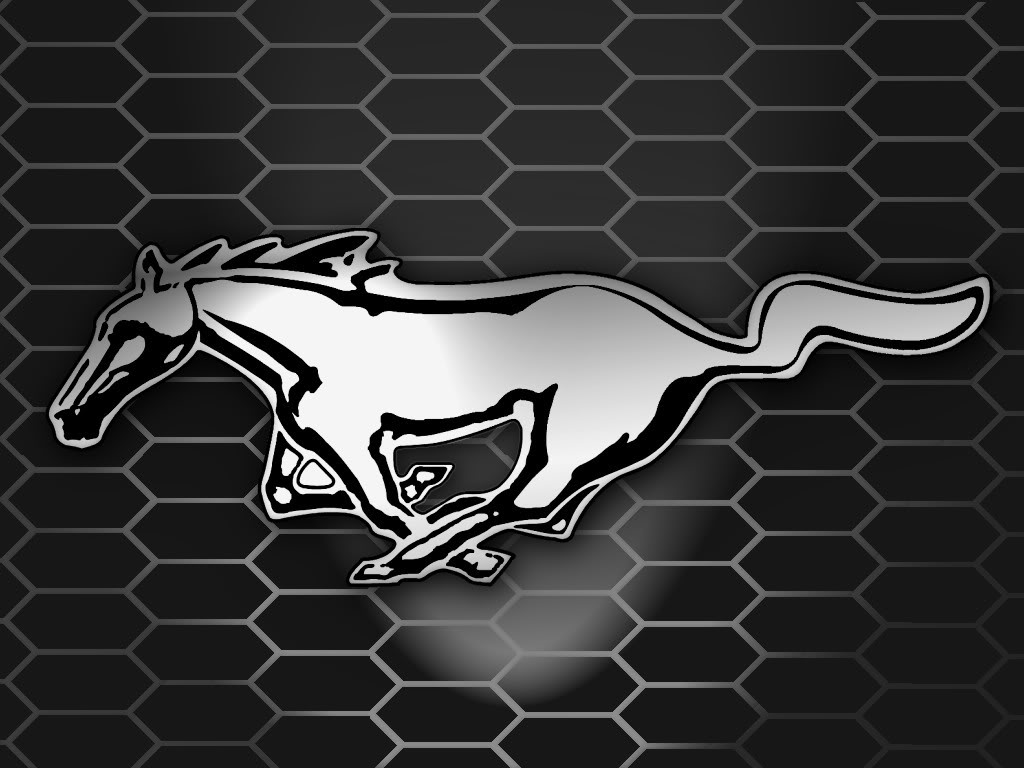 Mustang Logo Wallpaper