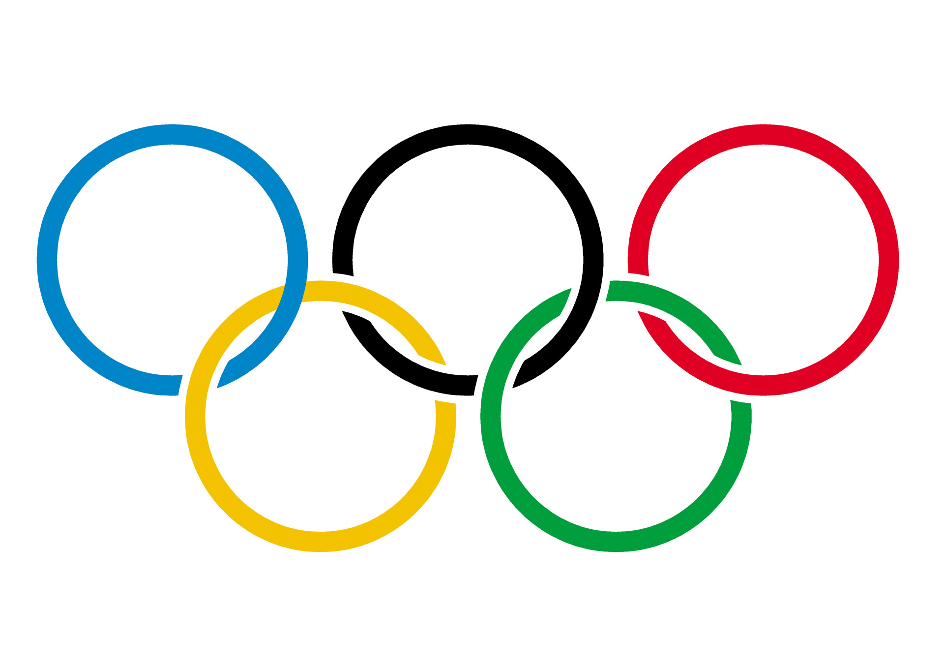 Olympic Logo Wallpaper