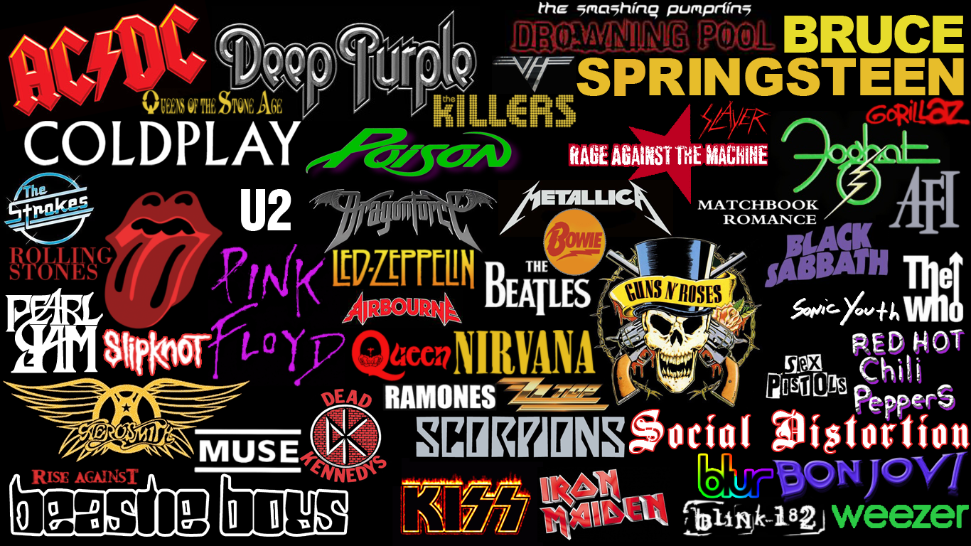 Rock Logos Wallpaper