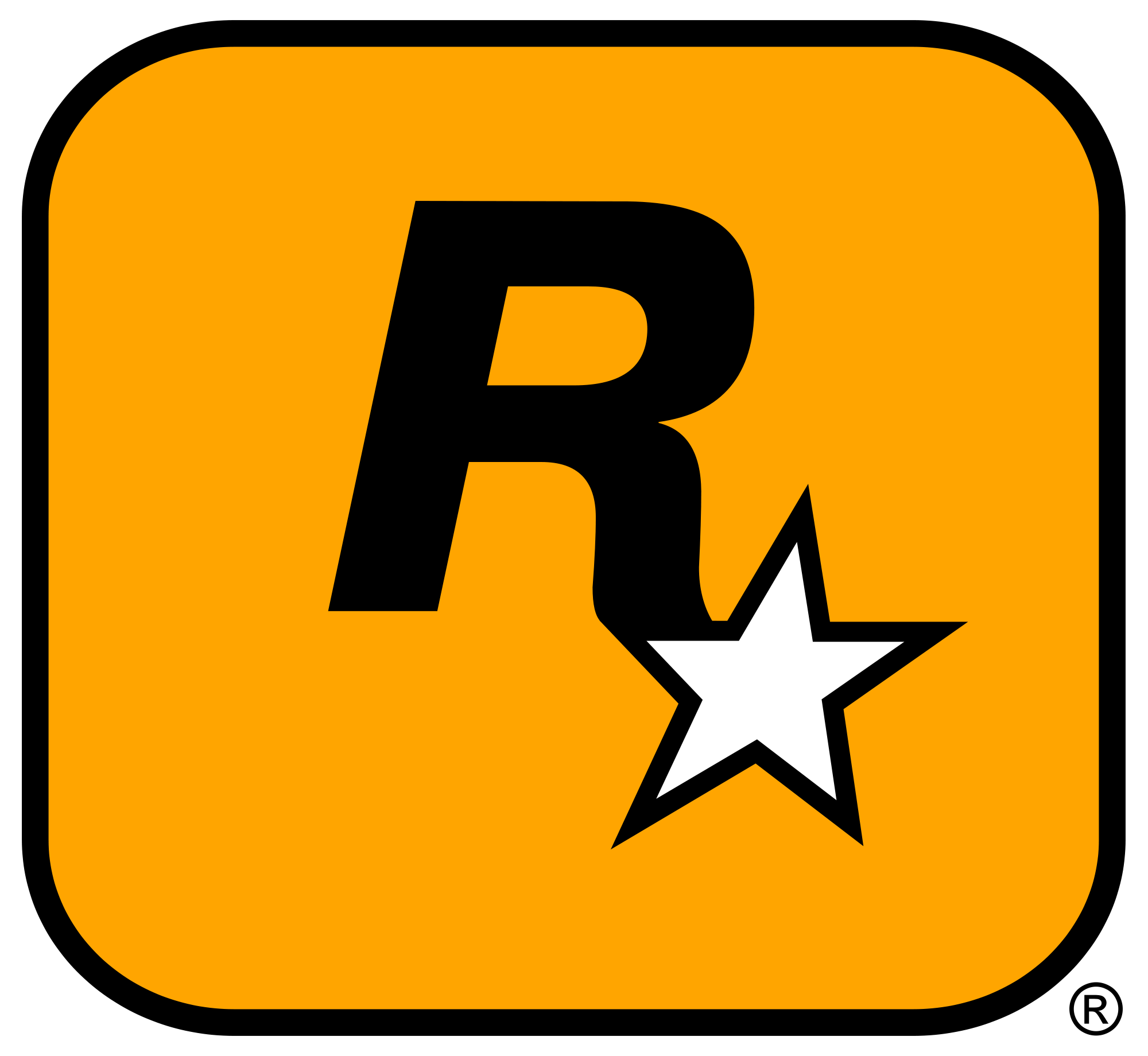 Rockstar Games (GTA) Logo Wallpaper
