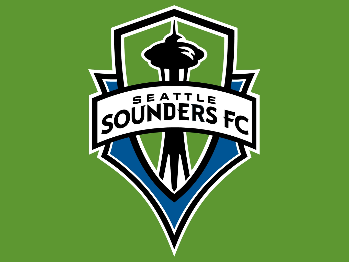 Seattle Sounders Football Club Logo Wallpaper