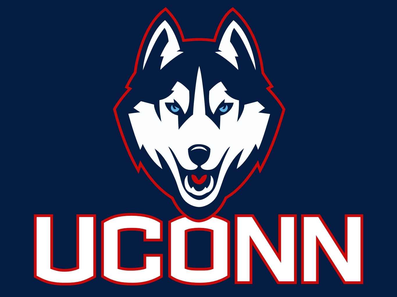 Uconn Huskies Logo Wallpaper