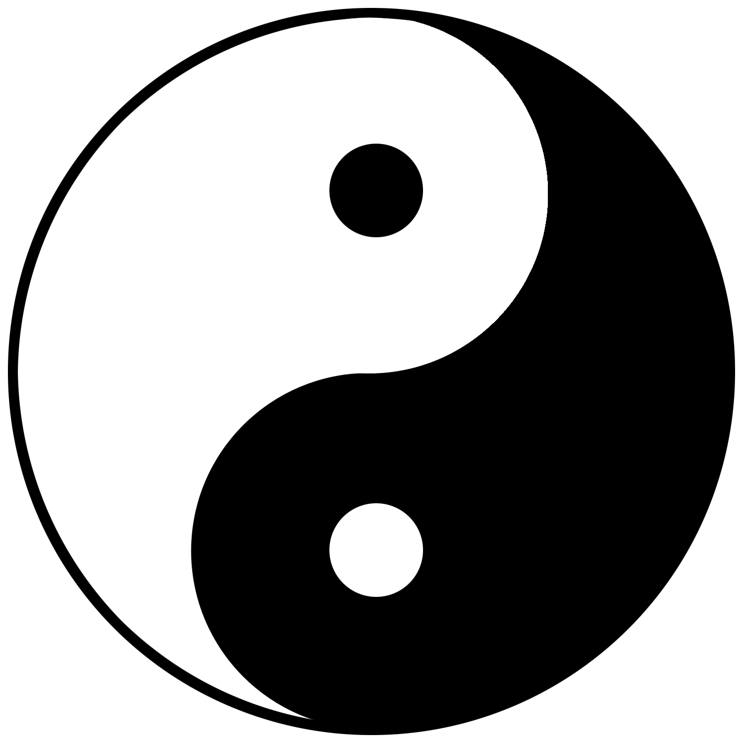 Ying Yang Sign Wallpaper