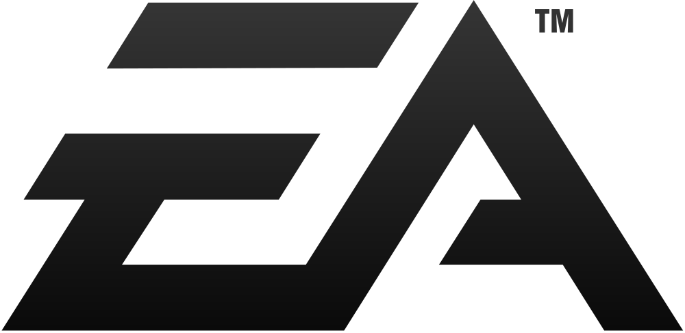 EA Black Logo Wallpaper