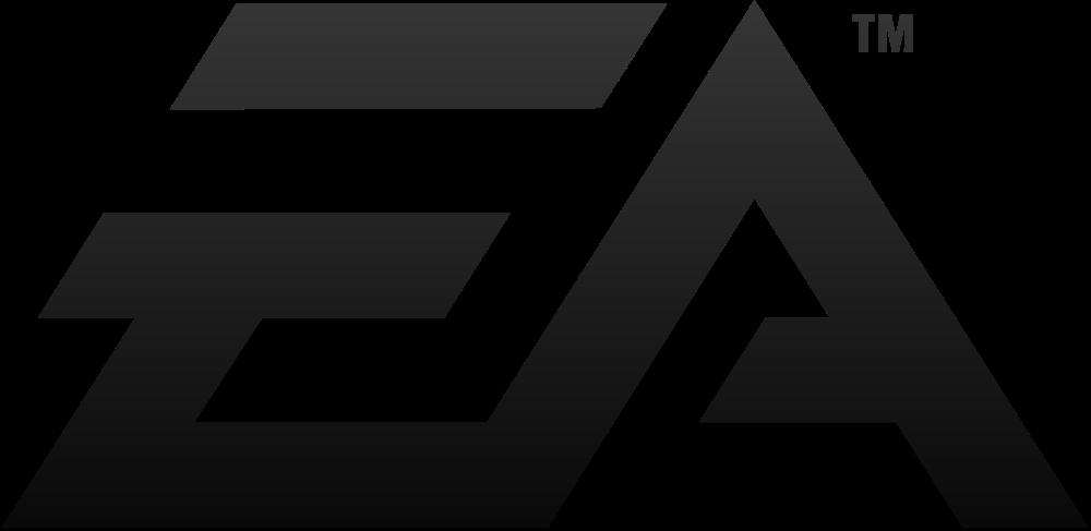 EA Black Logo Wallpaper