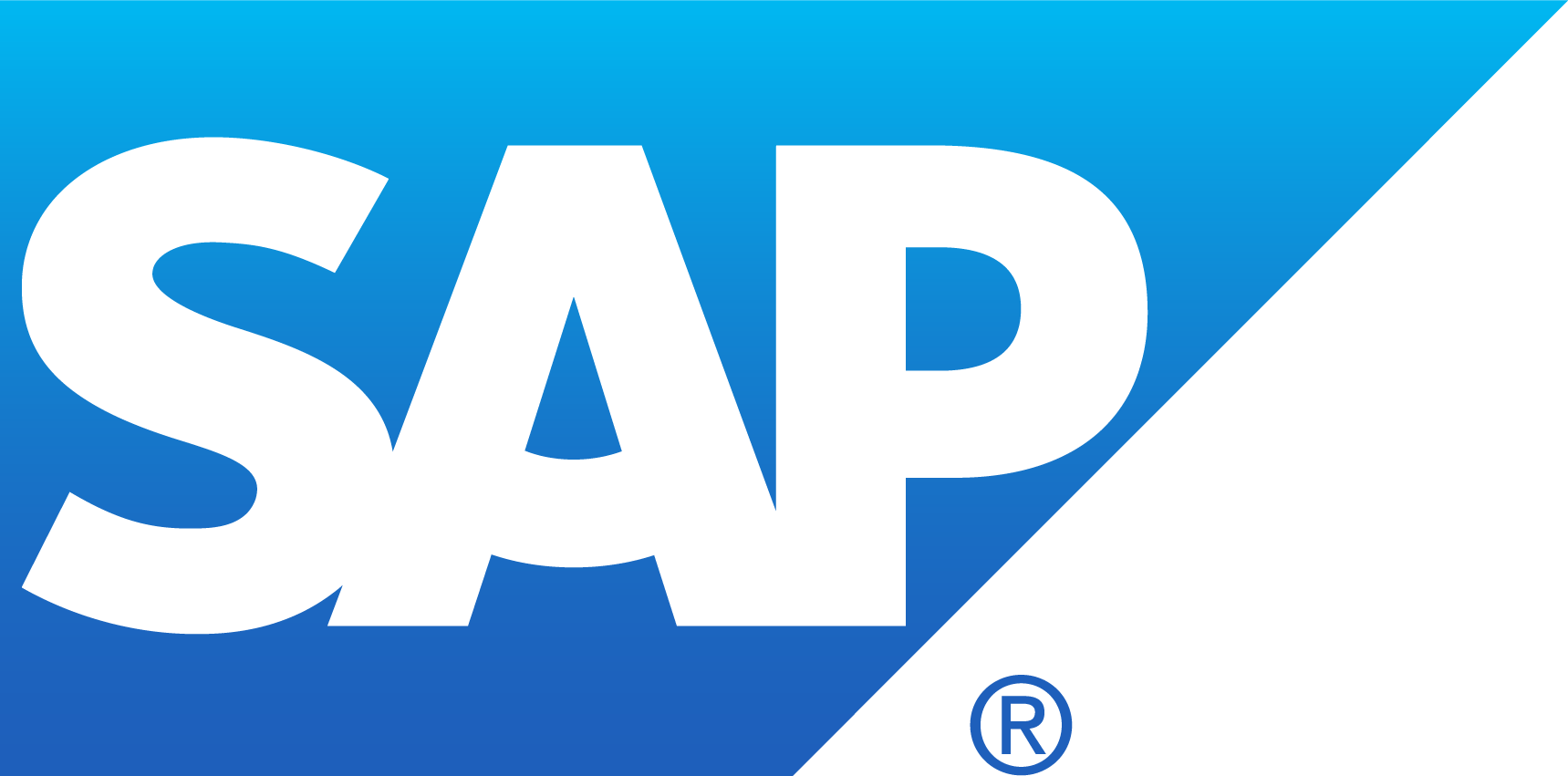 SAP Blue Logo Vector Wallpaper