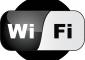 WiFi Black Logo Vector