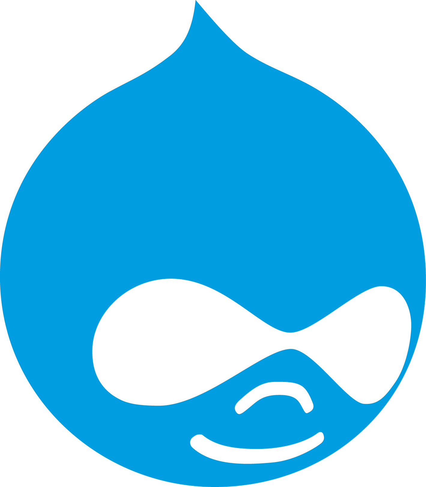 Drupal Logo Wallpaper