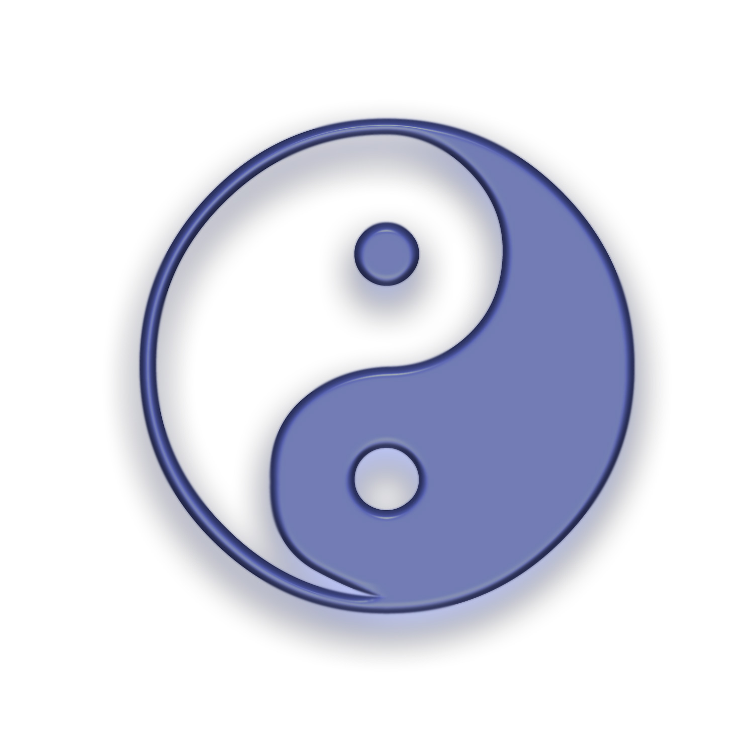 Yin and Yang Symbol Wallpaper
