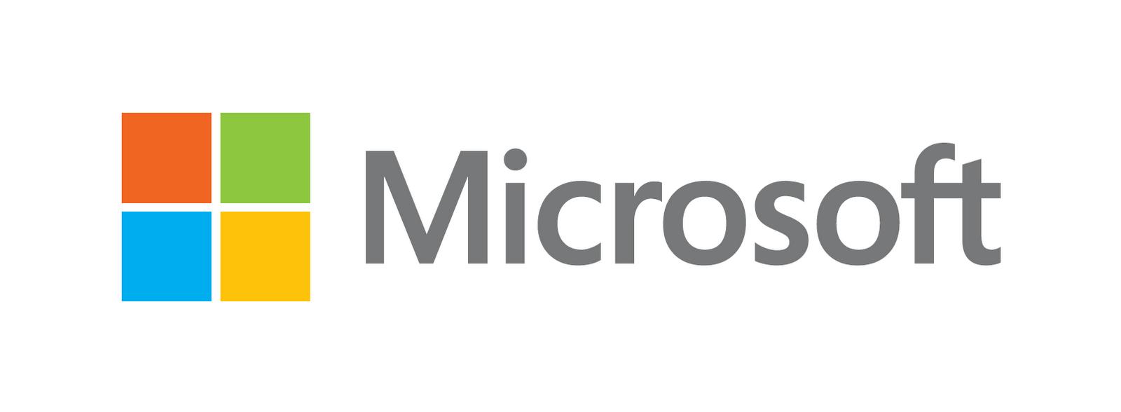 Microsoft White Logo Wallpaper