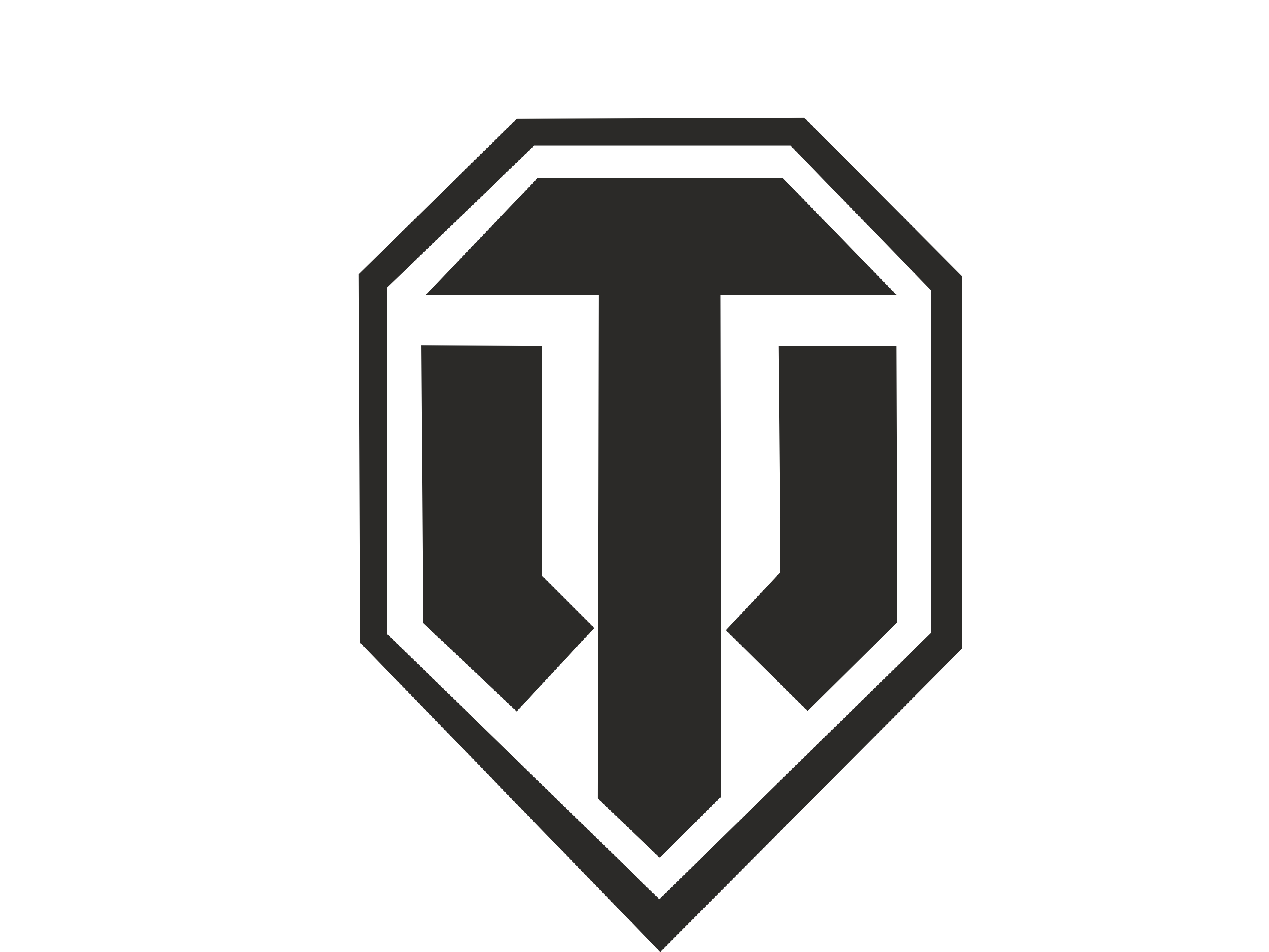 World of Tanks Black Logo Wallpaper